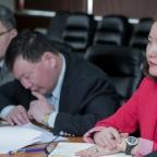 Protocolo de una reunión de negocios en Mongolia
