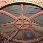 Dentro de una yurta mongol