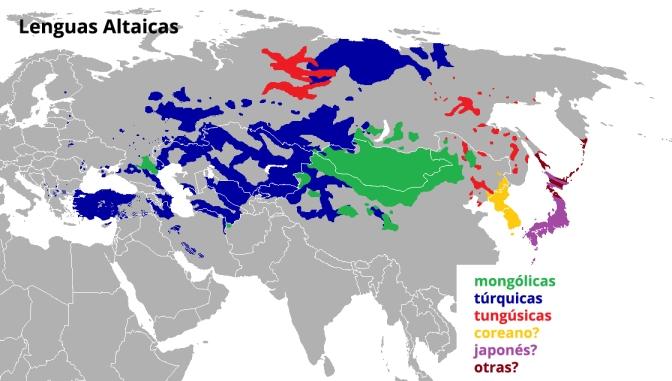 lenguas altaicas